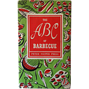 1957 The ABC of Barbecue Cook Book