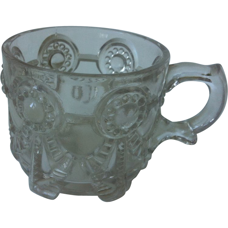 EAPG Alabama State Series Cup US Glass 1892