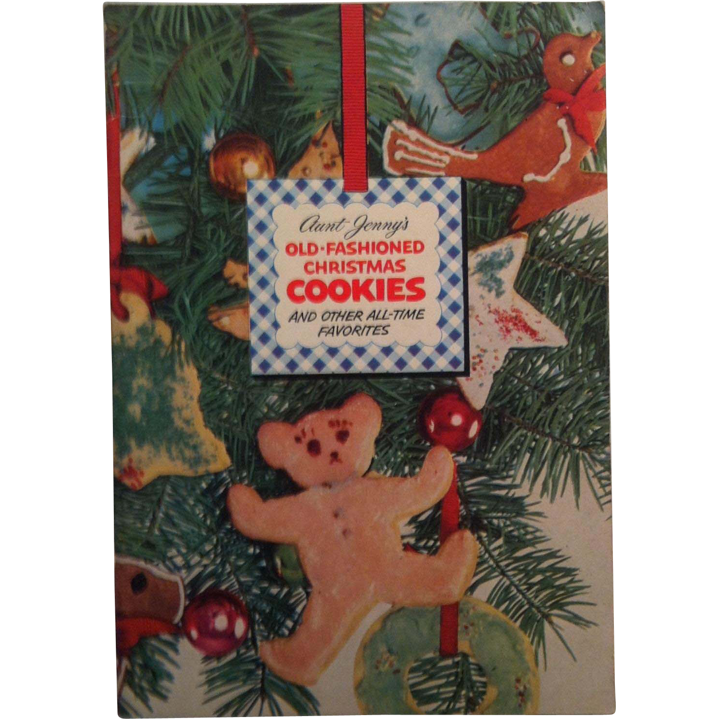 1952 Aunt Jenny's Old Fashion Christmas Cookies