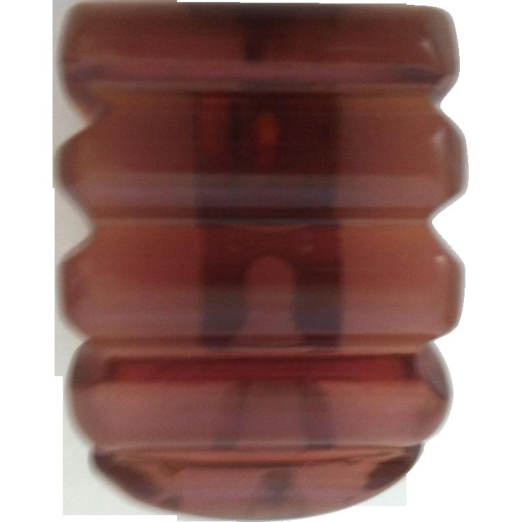 Bakelite Apple Juice Dress Clip