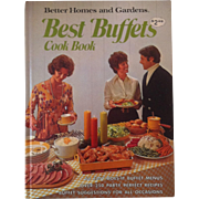 Best Buffets Cook Book ~ Better Homes & Gardens~  1974 First Edition