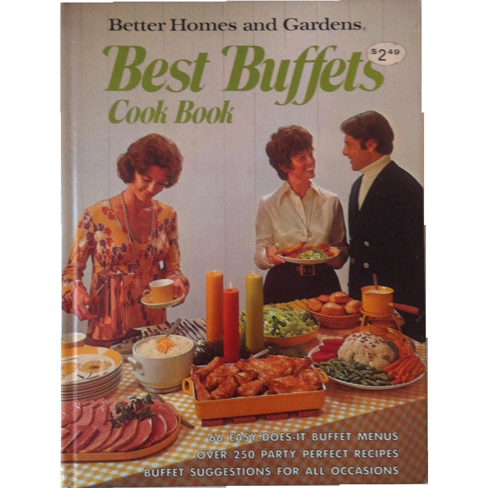 Best Buffets Cook Book ~ Better Homes & Gardens~  1974 First Edition