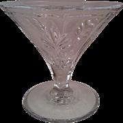 2 Baroque Clear Champagne / Tall Sherbet ~ Fostoria