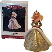 1994 Hallmark Holiday Barbie Keepsake Ornament #2