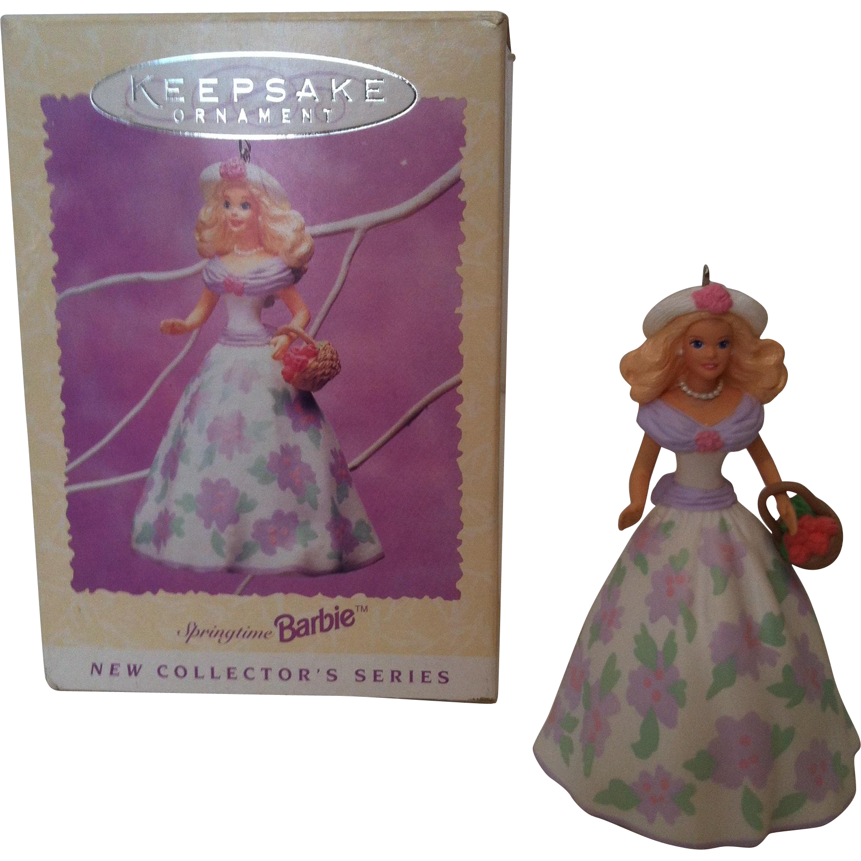 1995 Easter Collection Springtime Series #1 Hallmark Ornament