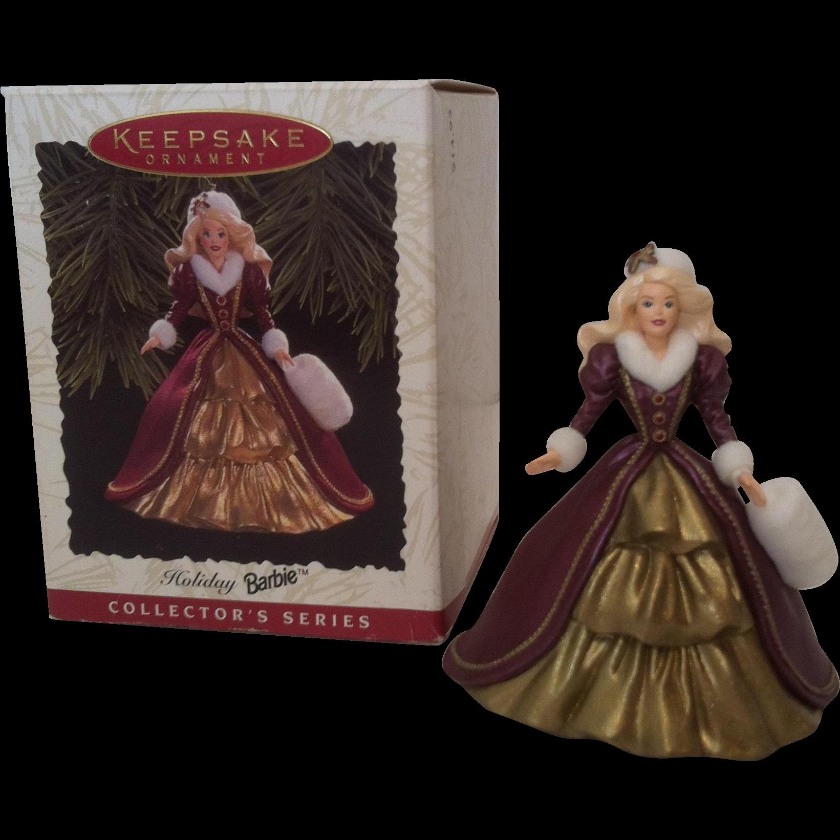 1996 Holiday Barbie Christmas Ornament #4