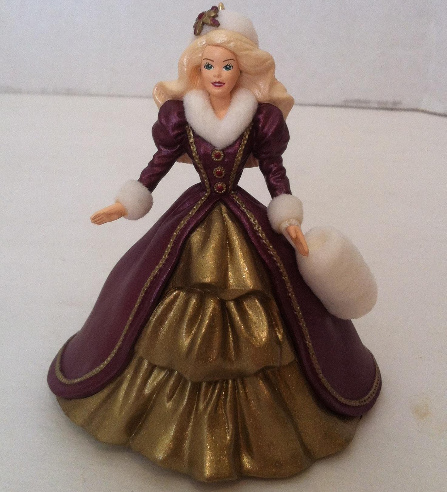 1996 holiday barbie christmas ornament 4 from therabbithole on ruby
