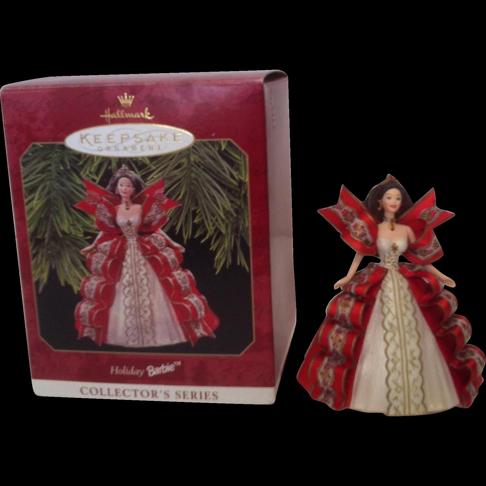 1997 Holiday Barbie Keepsake Ornament #5