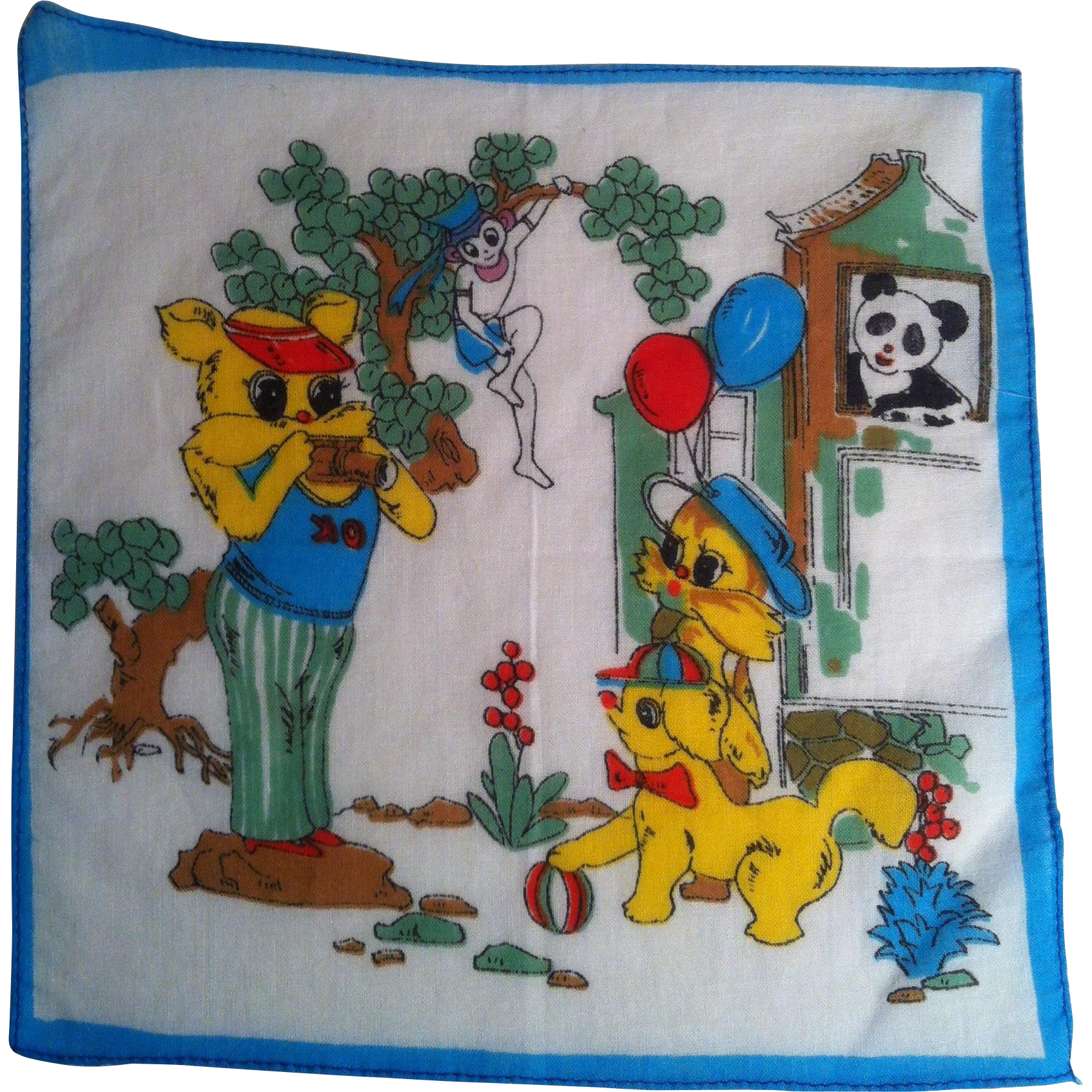 Picture Time Child's Handkerchief