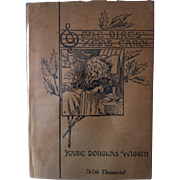 1916 ~A Birds Christmas Carol by Kate Douglas Wiggin~ Dramatized edition with DJ