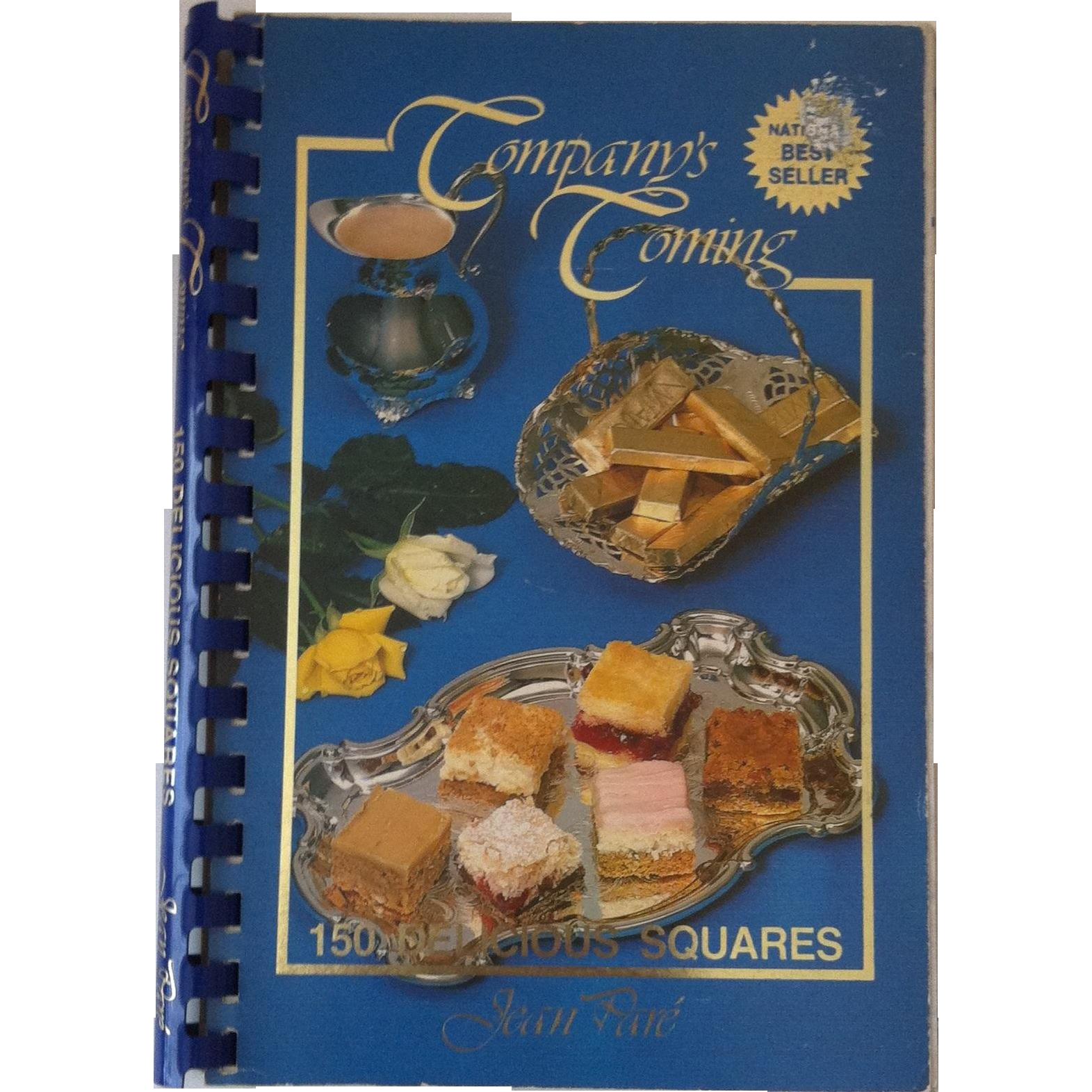 Company's Coming 150 Delicious Squares ~ Jean Pare'