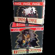 1996-97 Coca Cola Christmas Ornaments