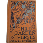 1928 A Childs Garden of Verses ~ R L Stevenson