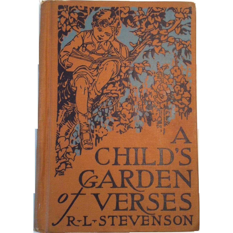 1928 A Childs Garden of Verses ~ R L Stevenson