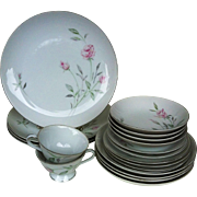 20 ~ Zephyr Rose Dinnerware #1418 ~ Celebrity