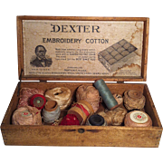Dexter Embroidery Cotton Display Box