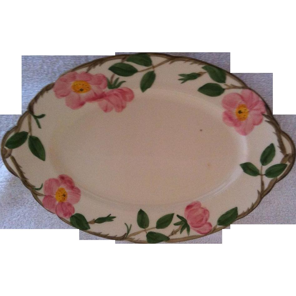 Franciscan Desert Rose Platter