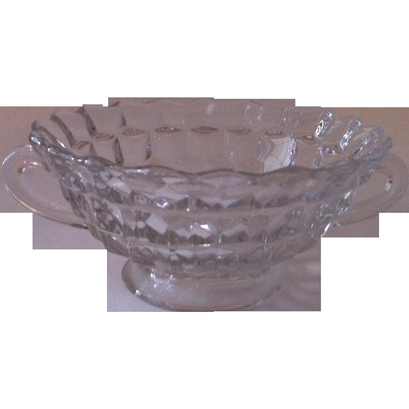 American Cream Soup Bowl ~ Fostoria