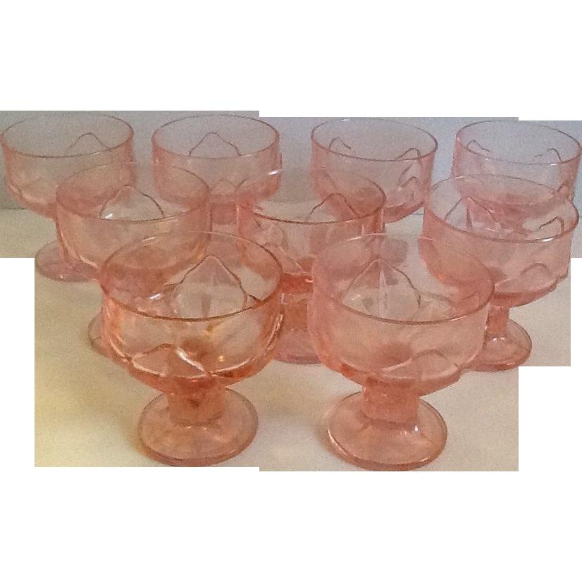 9 Cabaret Pink Sherbet by Franciscan