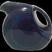 Cobalt Blue Fiesta Disk Water Pitcher