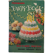 Foodarama Party Book ~ 1959 First Edition