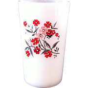 Fire King Primrose Juice Tumbler