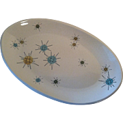 "15"" Starburst Platter ~ Franciscan ~ As Is"
