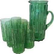 Green Bamboo Highball and Pitcher Fomerz Italy