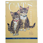 Gladys Emerson Cook  Cats & Kittens Complete Set of 8