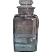 "12 1/2"" Large General Store Jar ~ ground Stopper"