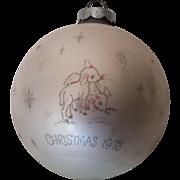 1973 -#1 Betsy Clark Hallmark Ornament