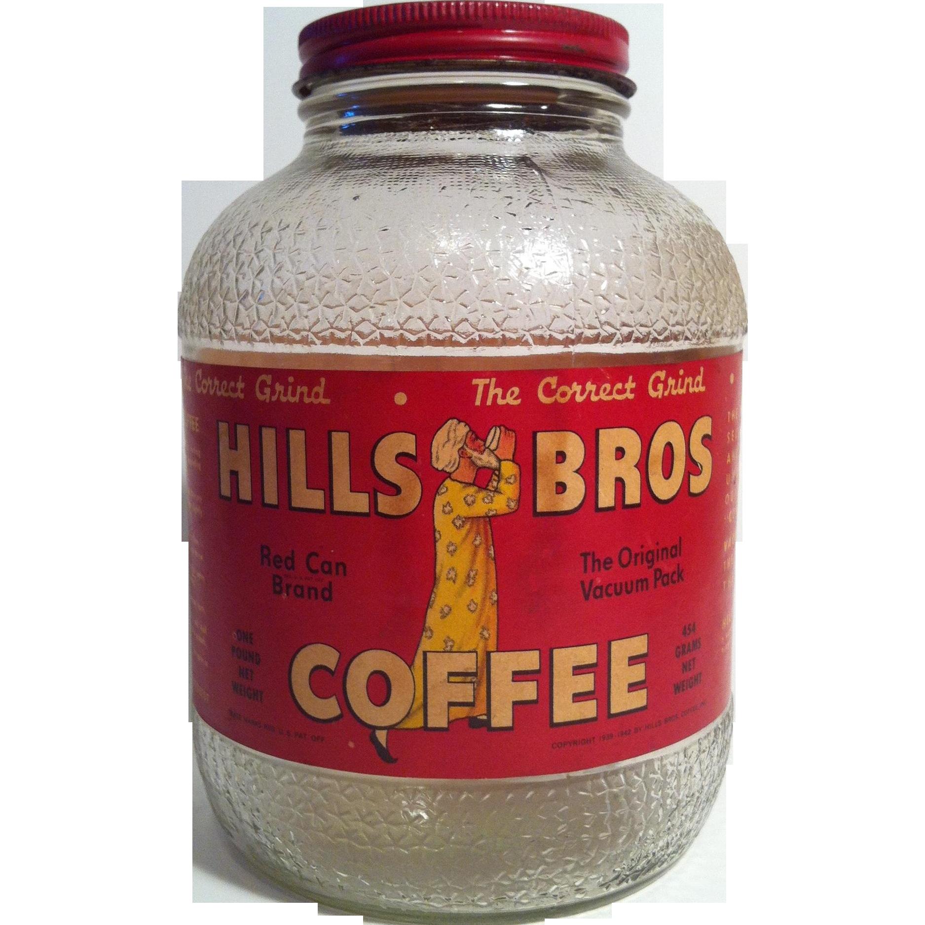 Hills Brothers Coffee Jar - 1 Lb