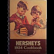 Hershey's 1934 Cookbook- Revised Reprint 1971