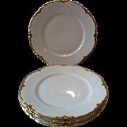 4 Dinner Plates Habsburg M.Z. Austria - #Hab32