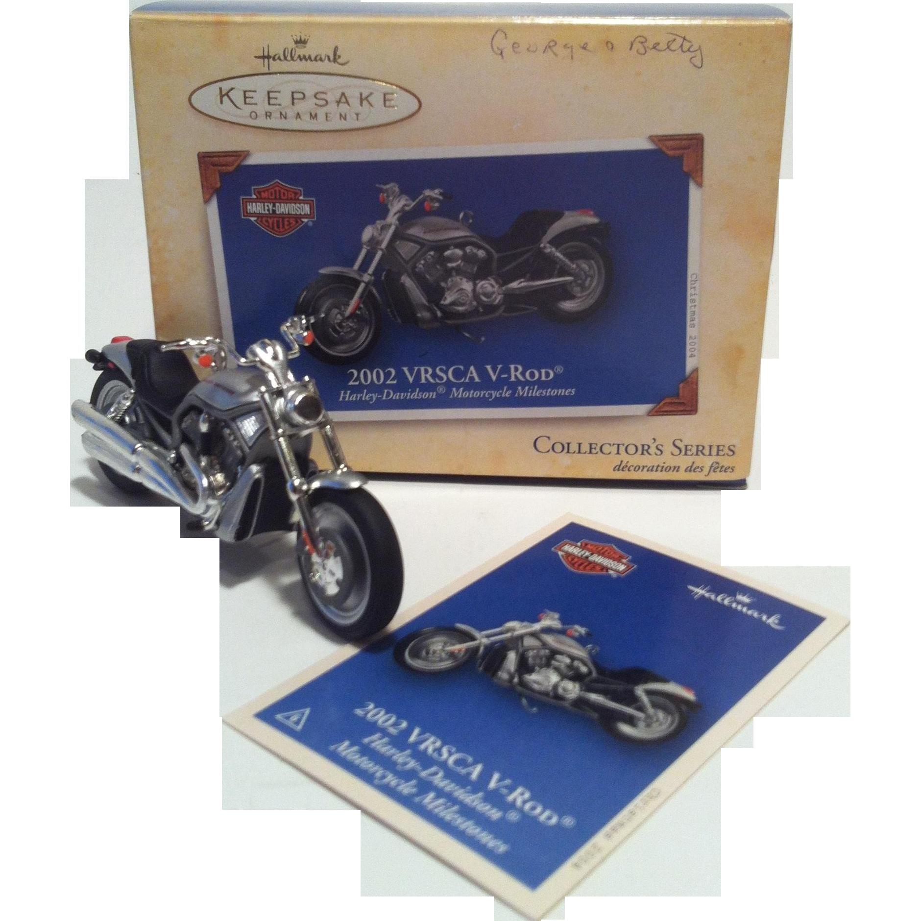 Hallmark Harley Davidson Motorcycle ~ 2004