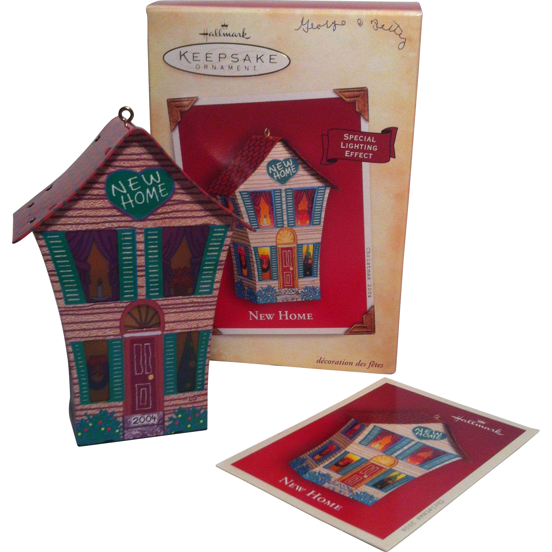 2004 Hallmark New Home ~with  light effect