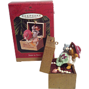 1997 Hallmark Sister to sister Ornament
