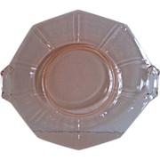 Imperial Molly-Pink Handled Cake Plate