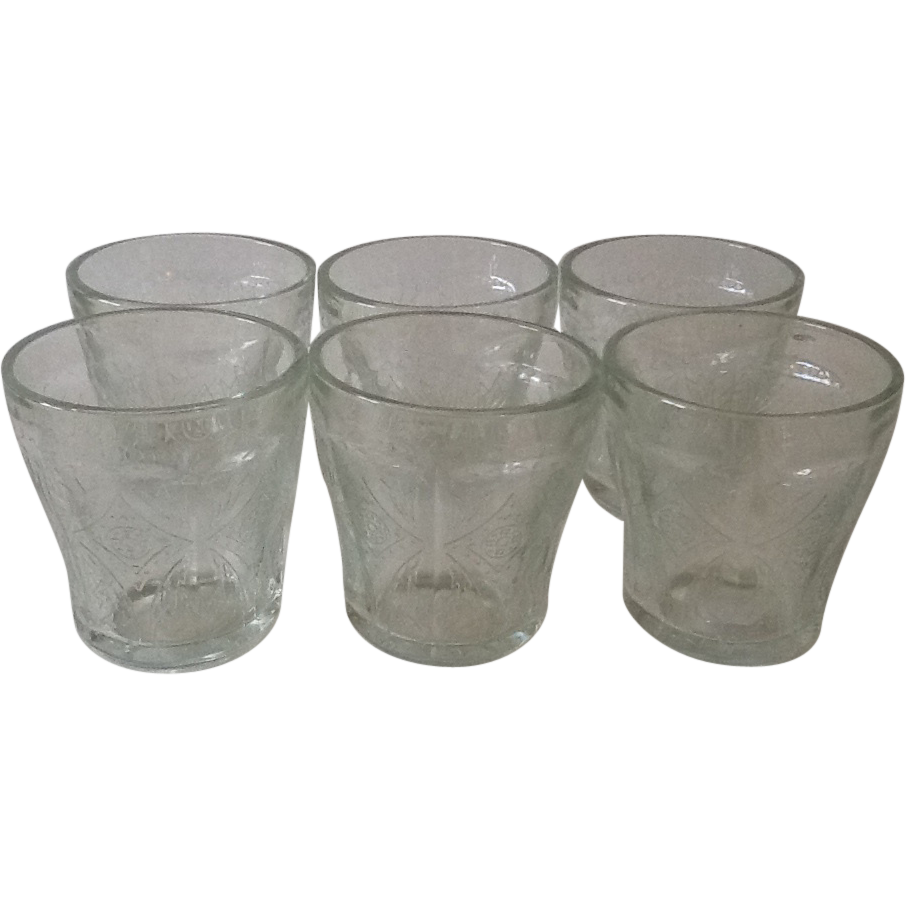Indiana Recollection Madrid Tumblers set of 6