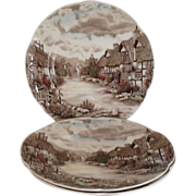 Dinner Plate Olde English Countryside by Johnson Brothers