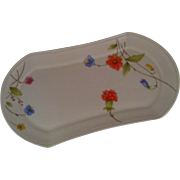 Mikasa  Just Flowers Butter Tray
