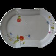 "Mikasa Just Flowers  14"" Oval  Platter"