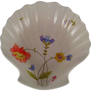 Mikasa Just Flowers Shell Shaped Dish