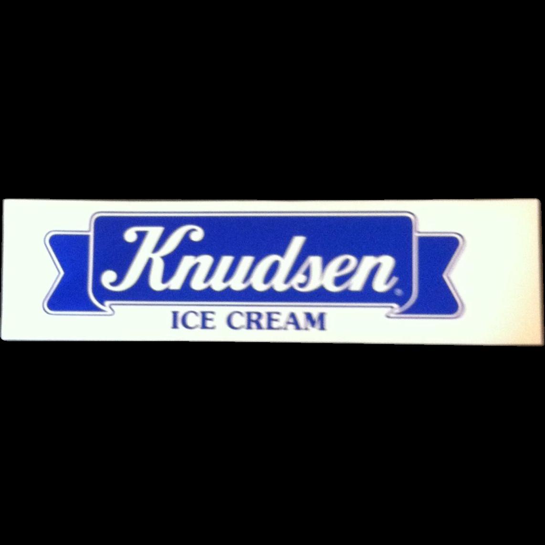 Knudsen Ice Cream Sign