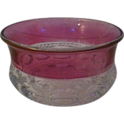 Kings' Crown Cranberry Flash Fruit / Dessert Bowl