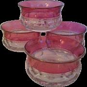 Four Kings' Crown Cranberry Flash Fruit / Dessert Bowls