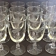 Libbey Rock Sharpe Brookdale Ice Tea Goblets set of 12