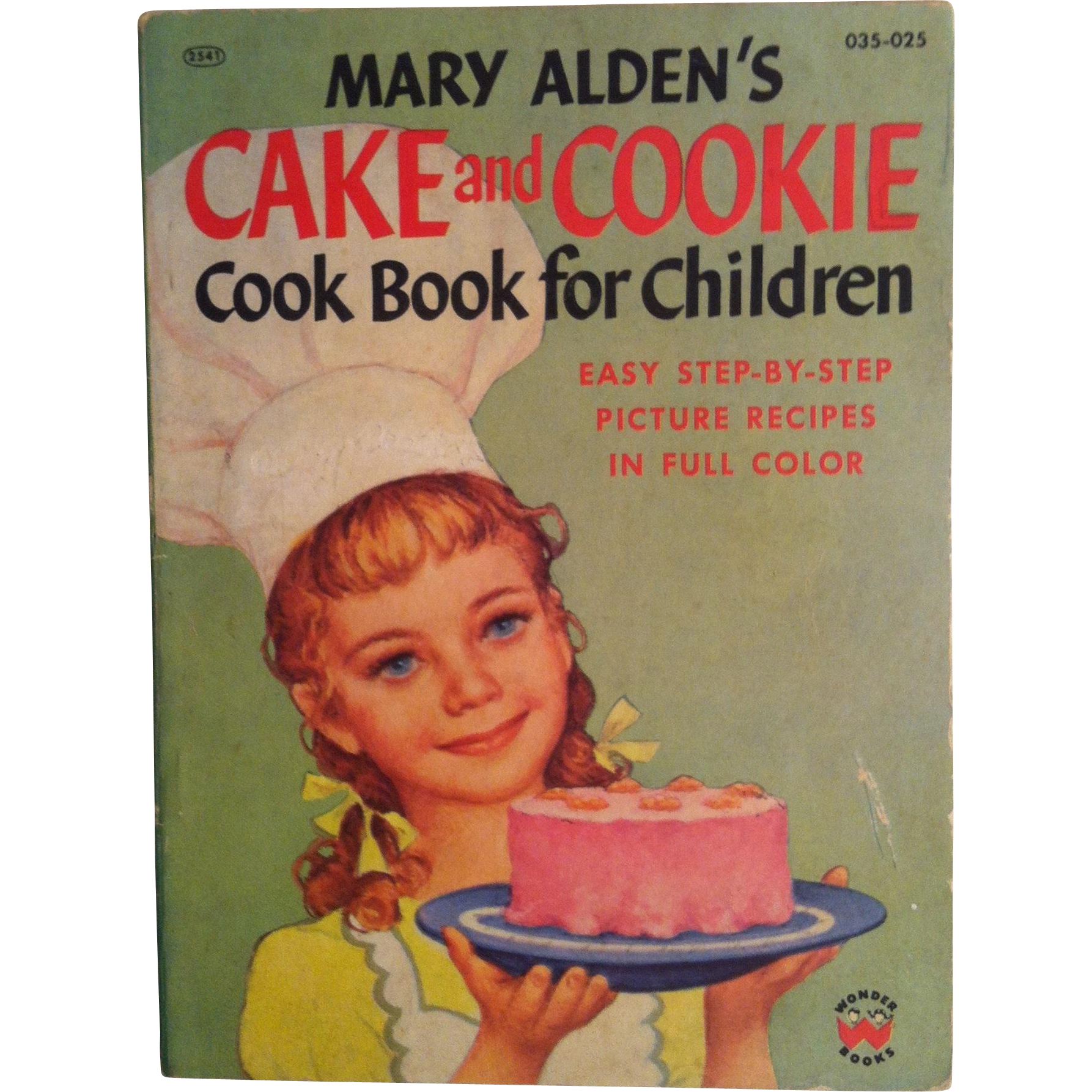 Mary Alden's Cake and Cookie Cook Book For Children ~ 1956 first edition