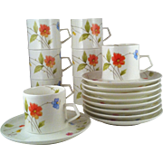 Mikasa Just Flowers Cup & Saucer