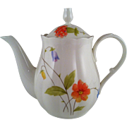 Mikasa Just Flowers Mini Teapot